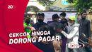 Kericuhan di TPU Tegal Alur, Peziarah Protes Tak Boleh Masuk