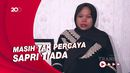 Istri Sapri Pantun Jalani Lebaran Perdana Tanpa Sang Suami