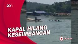 Perahu Terbalik di Kedungombo Gegara Selfie, 6 Orang Tewas-3 Hilang