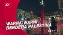 Melihat Monas-Bundaran HI Jakarta Rasa Palestina