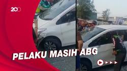Tabrak Lari di Cakung, ABG dan Mobilnya Diamuk Massa!
