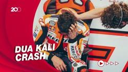 Apesnya Marquez, Crash Saat Memimpin Balapan