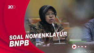 Rapat Komisi VIII DPR dengan Risma Soal Nomenklatur BNPB Berakhir Buntu