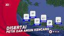 19 Mei Ada Potensi Hujan Lebat di Wilayah-wilayah Ini