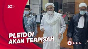 Habib Rizieq Bakal Siapkan Pleidoi di Kasus Kerumunan