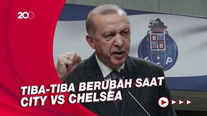 Erdogan Sebut Pemindahan Final Liga Champions ke Porto Politis