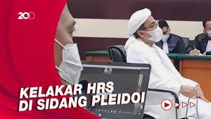 Pleidoi Habib Rizieq: Bawa Nama Ahok hingga Menyasar Para Jenderal