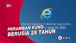 Internet Explorer Pensiun di Tahun 2022