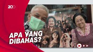Tak Diundang Puan, Ternyata Ganjar Sempat Temui Megawati
