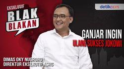Blak-blakan Dimas Oky Nugroho, Ganjar di Antara Jokowi dan Rustriningsih