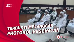 Habib Rizieq Dkk Divonis 8 Bulan Terkait Kasus Kerumunan Petamburan
