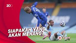Chelsea-Man City Tiba di Porto, Bersiap Final Liga Champions