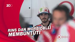 Bagnaia Tercepat di FP2 MotoGP Italia