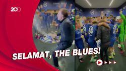 Momen Selebrasi Chelsea di Ruang Ganti Usai Kampiun Liga Champions