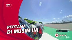 Valentino Rossi Akhirnya Finis 10 Besar Juga!