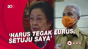 Kata Ganjar Soal Pernyataan Mega Petugas Partai Tak Nurut Harus Out