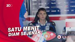 Momen Penghormatan Pembalap MotoGP Untuk Jason Dupasquier