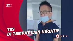 Heboh Pria Ngamuk di Bandara Palembang Gegara Hasil Tes Positif Corona