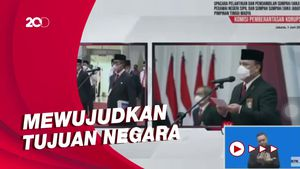 Lantik Pegawai KPK Jadi PNS, Firli Serukan Perang Badar Lawan Korupsi!