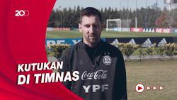Asa Messi Bawa Argentina Juara Copa America 2021