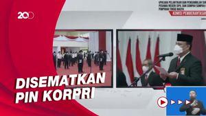 Sah! Firli Bahuri Lantik Sekjen-Deputi Pencegahan KPK jadi PNS