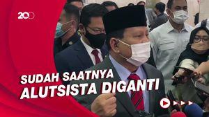 Prabowo soal Anggaran Rp 1,7 Kuadriliun: Banyak Alutsista Sudah Tua