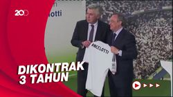 Ancelotti Resmi Kembali Nakhodai Real Madrid