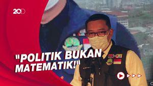 Ridwan Kamil Menatap Pilpres 2024: Kalau Memang Takdir Saya Jalani