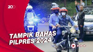 Momen AHY Safari ke Ridwan Kamil Hingga Naik Motor Berboncengan