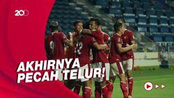 Indonesia Vs Thailand Imbang 2-2, Garuda Petik Poin Perdana