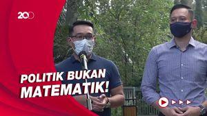 Jawaban Ridwan Kamil Soal Berpasangan dengan AHY di Pilpres 2024