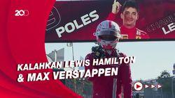 Kualifikasi F1 GP Azerbaijan: Leclerc Raih Pole Position