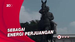 Resmikan Patung Bung Karno, Megawati: Api Perjuangan Kembali Bergelora