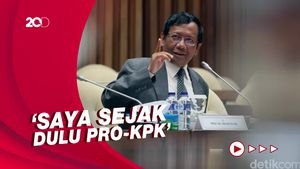 Saat Mahfud Cerita soal KPK: Kalau Saya Presiden, Novel Jaksa Agung