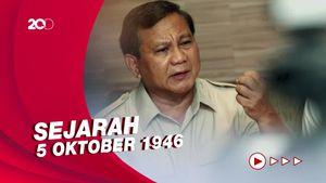 Prabowo Ungkap Sejarah di Balik Patung Bung Karno Naik Kuda