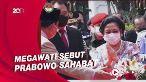 Momen Akrab Megawati-Prabowo di Peresmian Patung Bung Karno