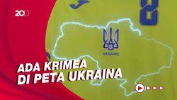 Jersey Baru Timnas Ukraina Bikin Rusia Geram, Kenapa?