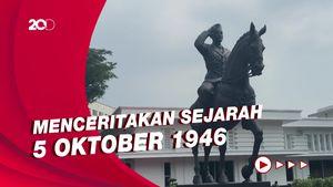 5 Fakta Patung Soekarno Berkuda yang Didirikan Menhan Prabowo