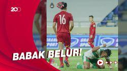 Skuad Garuda Babak Belur Dilumat Prajurit Bintang Emas 0-4