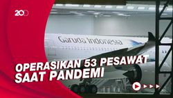 Keuangan Berdarah-darah, Ini Daftar Armada Garuda Indonesia