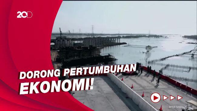 Jokowi Tinjau Tol Semarang-Demak: Ini Multifungsi!