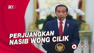 Jokowi Ucapkan Selamat ke Megawati: Konsistensi Beliau Sudah Teruji