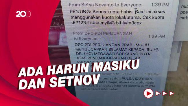 Zoom Meeting Profesor Megawati Disusupi 'Harun Masiku' dan 'Setnov'