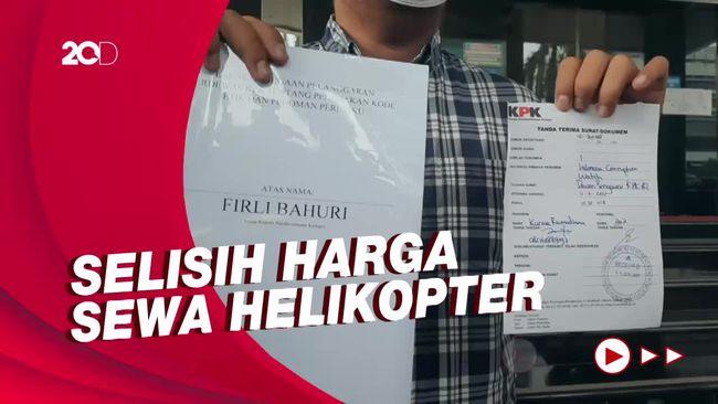 ICW Kembali Laporkan Firli ke Dewas KPK soal Sewa Helikopter