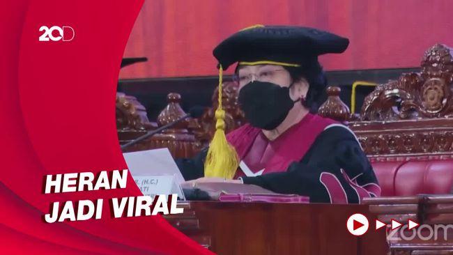Megawati Ceritakan Sapaan Sahabat ke Prabowo Jadi Viral