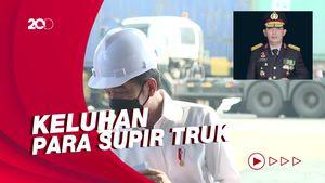Momen Jokowi Telepon Kapolri Minta Pungli di Priok Diatasi