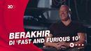 Vin Diesel Ungkap Cerita Fast and Furious Akan Segera Berakhir