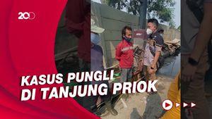 Detik-detik Penangkapan Sejumlah Pelaku Pungli di Tanjung Priok