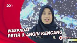 Potensi Hujan Lebat di Seluruh Wilayah Kalimantan