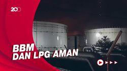 Tangki Pertamina di Cilacap Terbakar, Pasokan BBM dan LPG Aman?